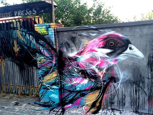 birds Street Art hacked irl - 8329459968