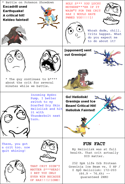 Rage Comics pokemon showdown - 8329783552