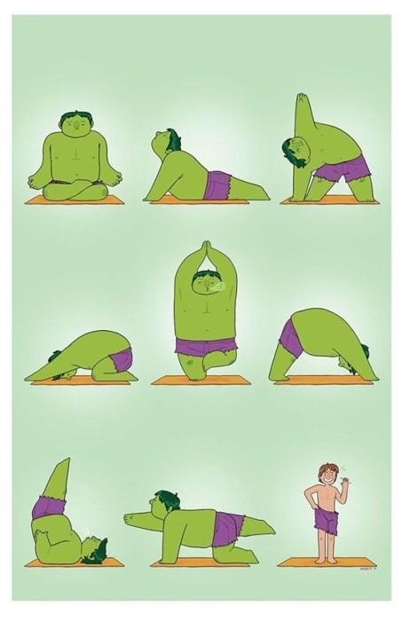 hulk poster yoga - 8330149632
