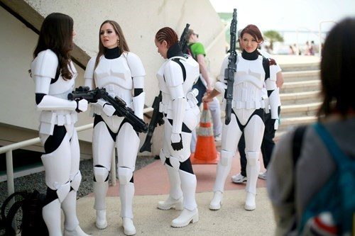 cosplay,ladies,stormtrooper