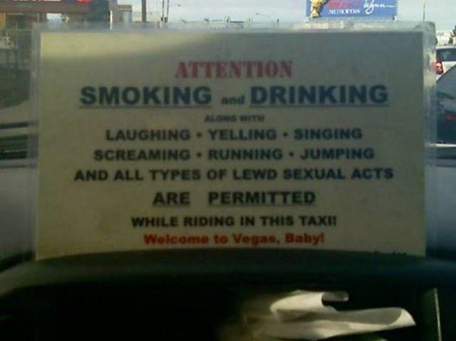 las vegas,monday thru friday,sign,taxi
