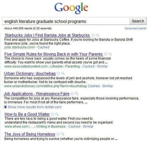 english depressing funny google graduate school options g rated School of FAIL - 8330186496