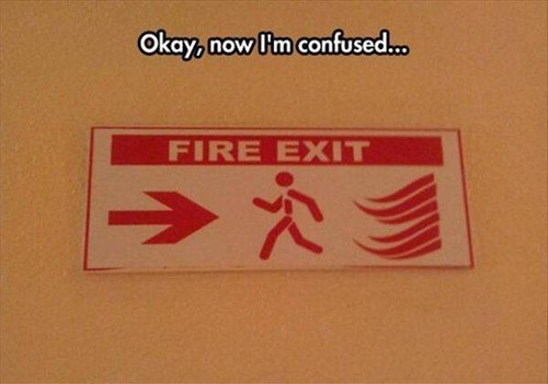 signs,fire exit
