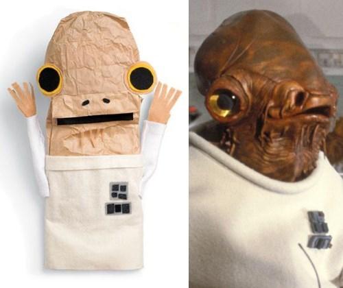 admiral ackbar,DIY,puppets