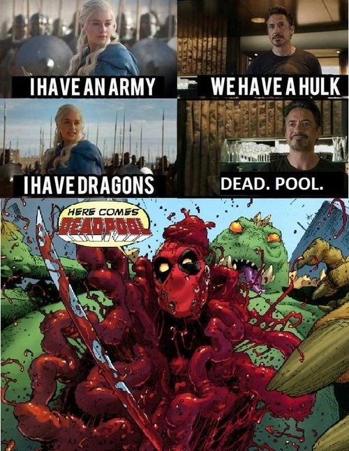 Daenerys Targaryen deadpool dragons Straight off the Page - 8330234112