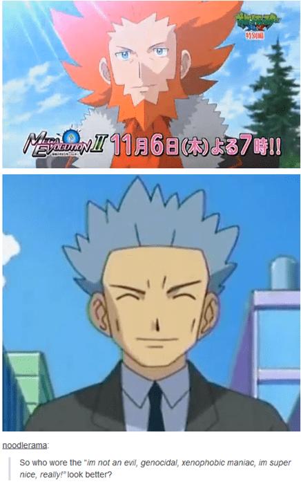 cyrus Pokémon lysandre - 8330273792
