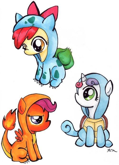 cmc Fan Art starters squee - 8330287616