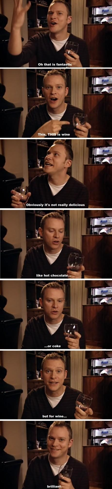delicious,peep show,TV,wine