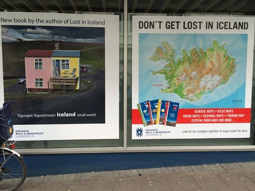 advertisement Iceland juxtaposition monday thru friday - 8330353664