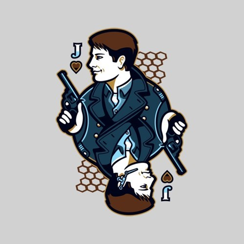 Captain Jack Harkness for sale playing cards tshirts - 8330381568