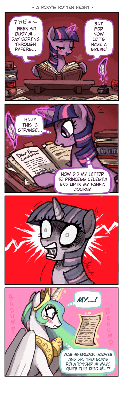 fanfic princess celestia twilight sparkle - 8330387456