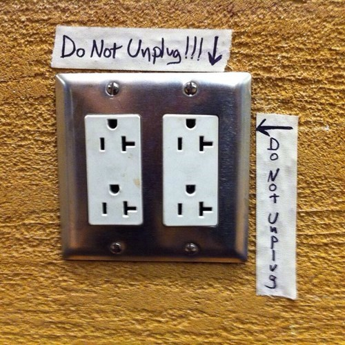 monday thru friday warning outlet - 8330396928