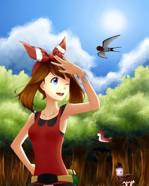 Fan Art Pokémon petalburg - 8330554880