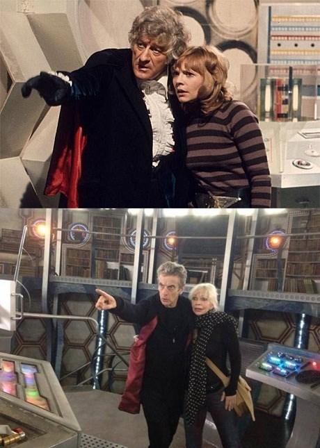 12th Doctor companion classic who jo grant - 8331283456