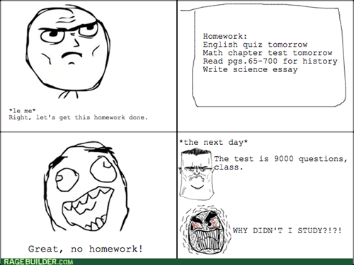 homework rage school test - 8331320064