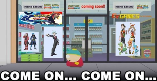 game stores,video games,South Park,waiting,ORAS