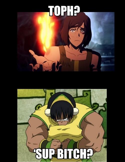 Avatar cartoons korra toph beifong - 8331682048