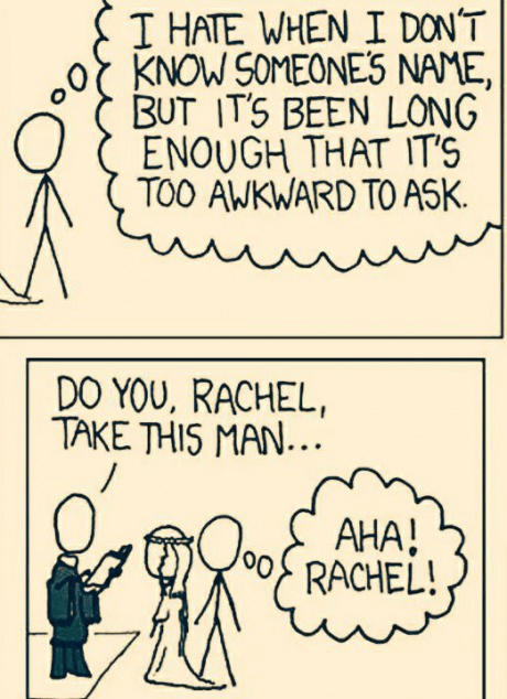 wedding names web comics