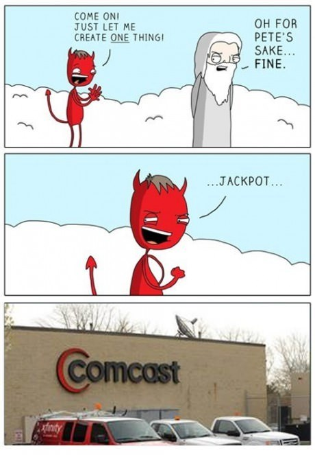 comcast devil web comics - 8332695296