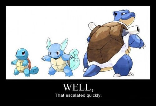 Pokémon wtf blastoise funny - 8332773632