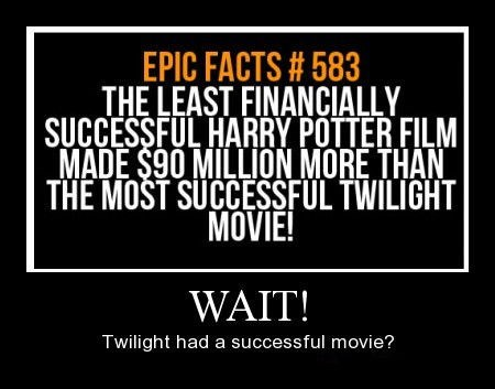 Harry Potter movies success twilight funny - 8332774400