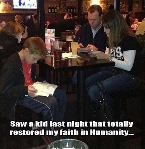 reading kids parenting dinner - 8332794880
