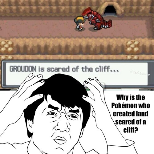 dafuq,groudon,pokemon logic