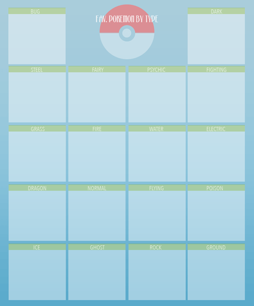 Pokémon template types - 8332940032
