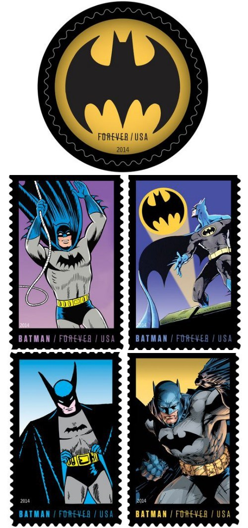 anniversary batman stamp