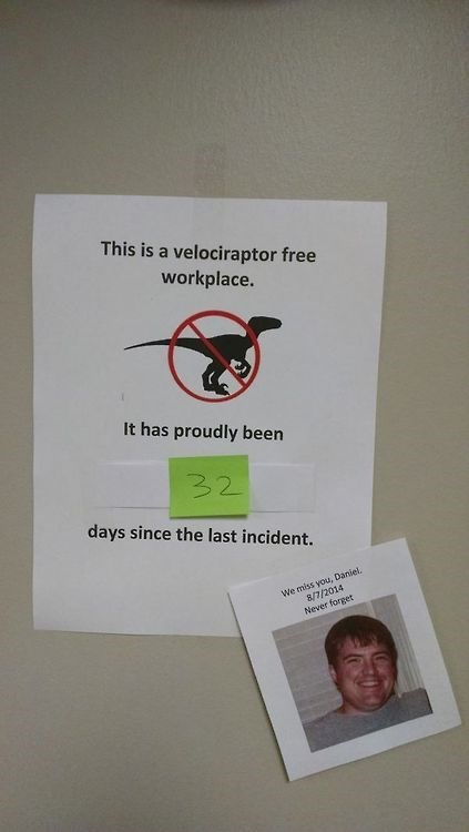 offices work velociraptors - 8332982272