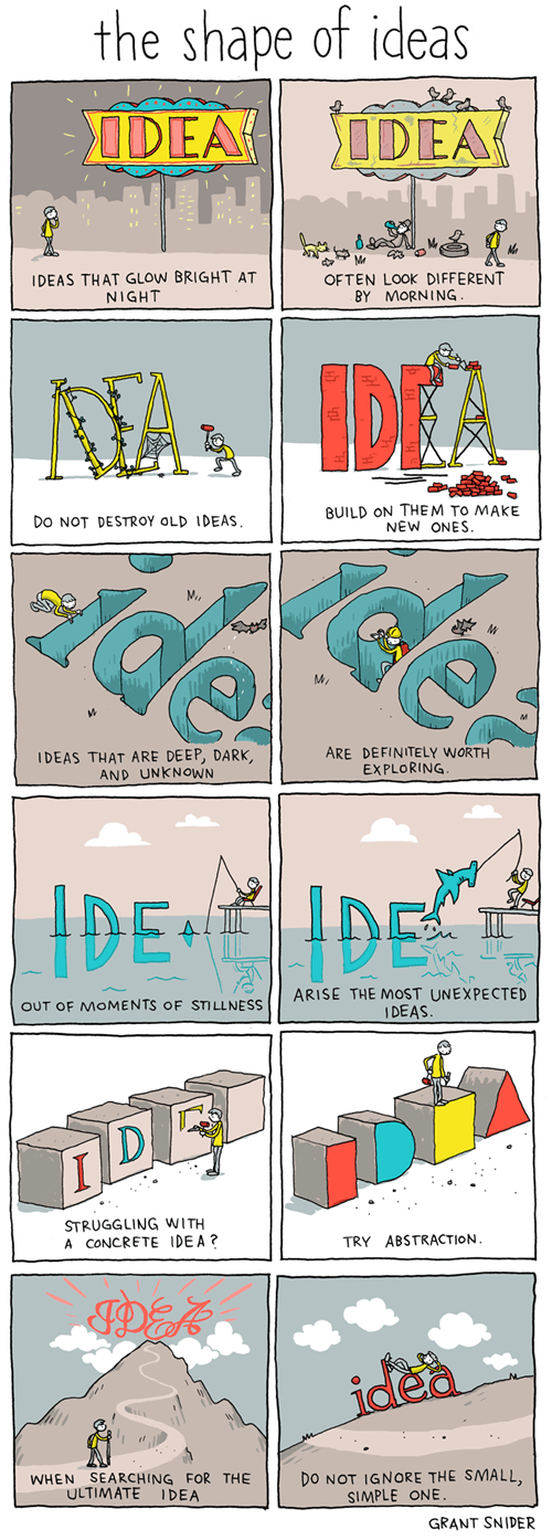 inspirational,ideas,web comics
