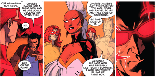 sick burn iceman cyclops straight of the page - 8333052672