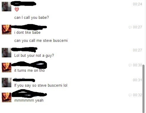 flirting steve buscemi prank dating - 8333154816