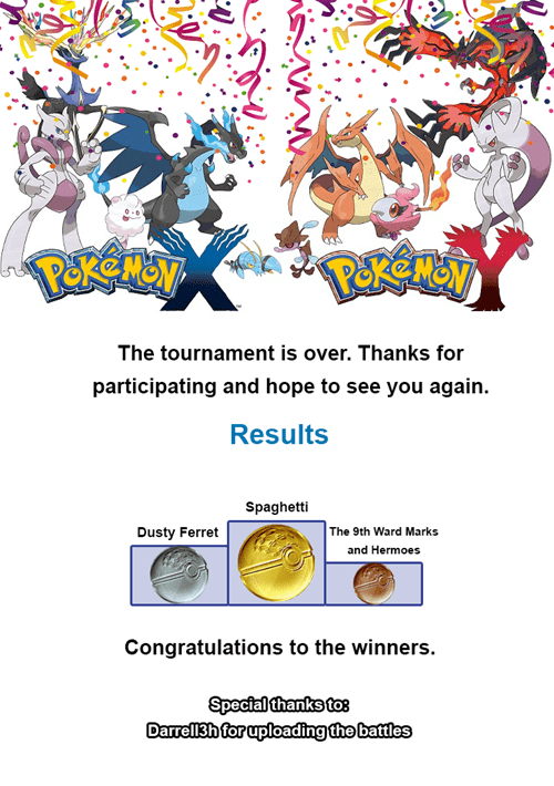 Pokémemes meta tournament props to steelig props to pikachuiscute props to darrell3g congrats-spaghetti - 8333771008