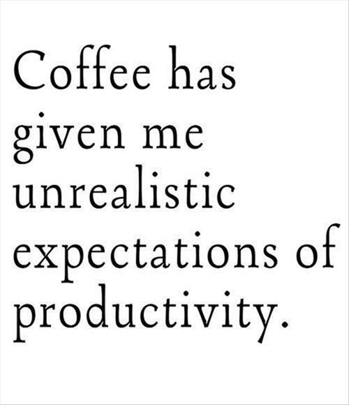 coffee productivity monday thru friday work - 8333941760