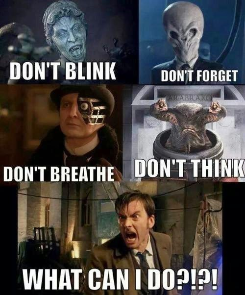 weeping angels 10th doctor the silence - 8333990912