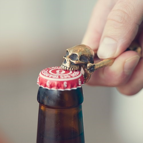 beer bottle opener skull funny after 12 g rated - 8334004224