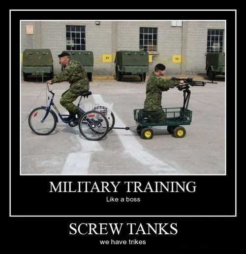 funny,military,wtf,trikes,tanks