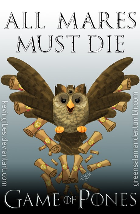 MLP Game of Thrones owlicious - 8334113024