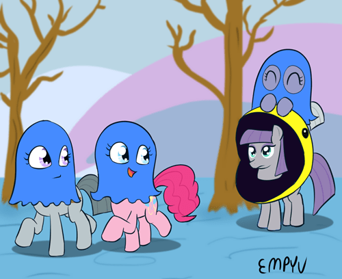 Fan Art,pac man,maud pie