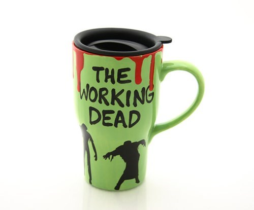 monday thru friday,zombie,coffee,mug,The Walking Dead,g rated