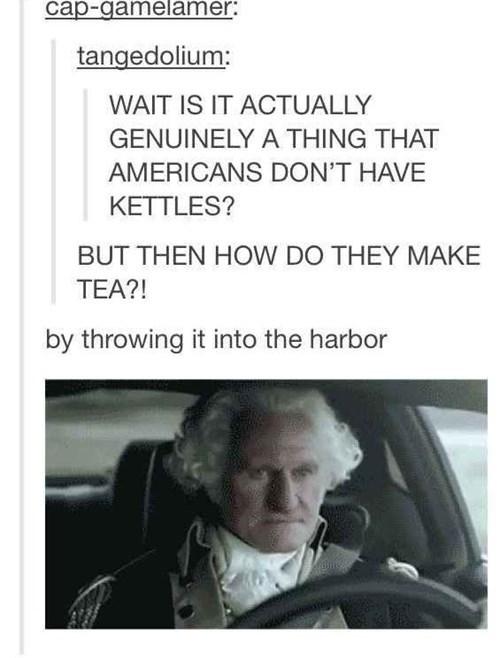 boston tea party george washington tumblr - 8334365440