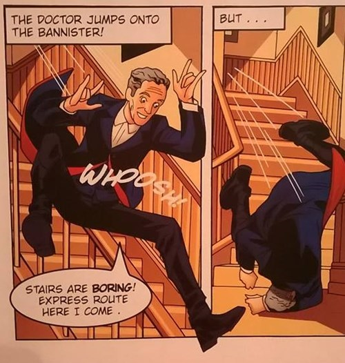 12th Doctor boring bannister comics - 8334939904