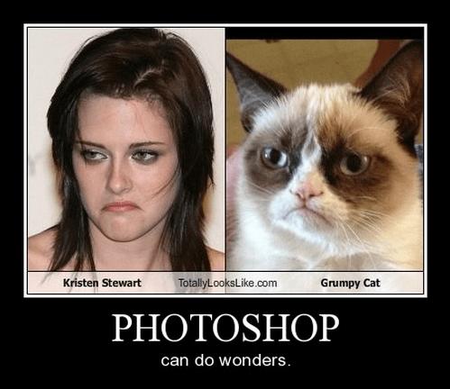 kristen stewart frown funny Grumpy Cat - 8335012096