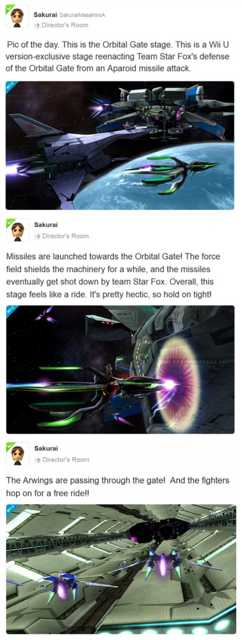 nintendo super smash bros wii U Star Fox Miiverse Video Game Coverage - 8335067648