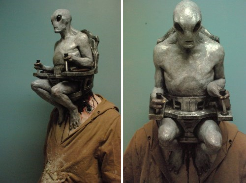 alien awesome cosplay grey