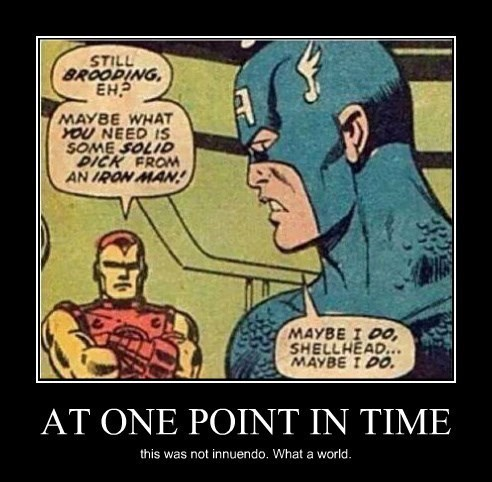 captain america comics innuendo funny iron man