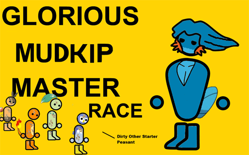 Pokémon,mudkip,starters,master race,ORAS