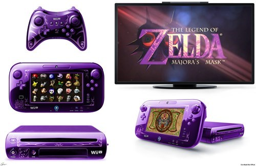 wii U,fanmade,video games,majoras mask,zelda,nintendo