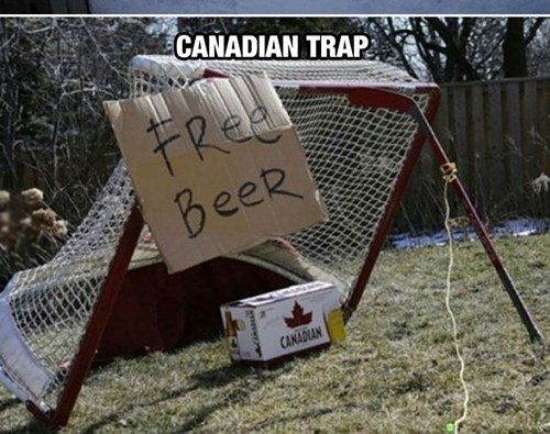 beer Canada hockey funny trap after 12 g rated - 8335161856